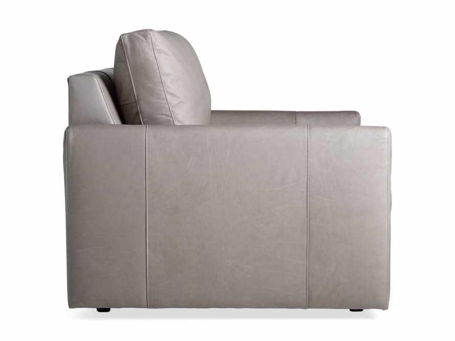 "Kipton Leather 51"" Chair, slide 7 of 7"