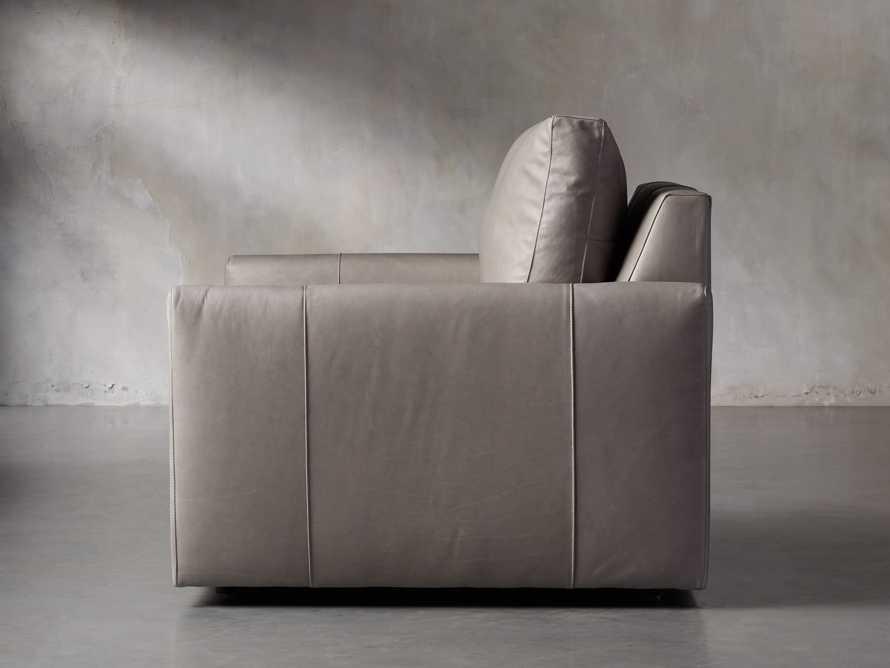 "Kipton Leather 51"" Chair, slide 3 of 7"