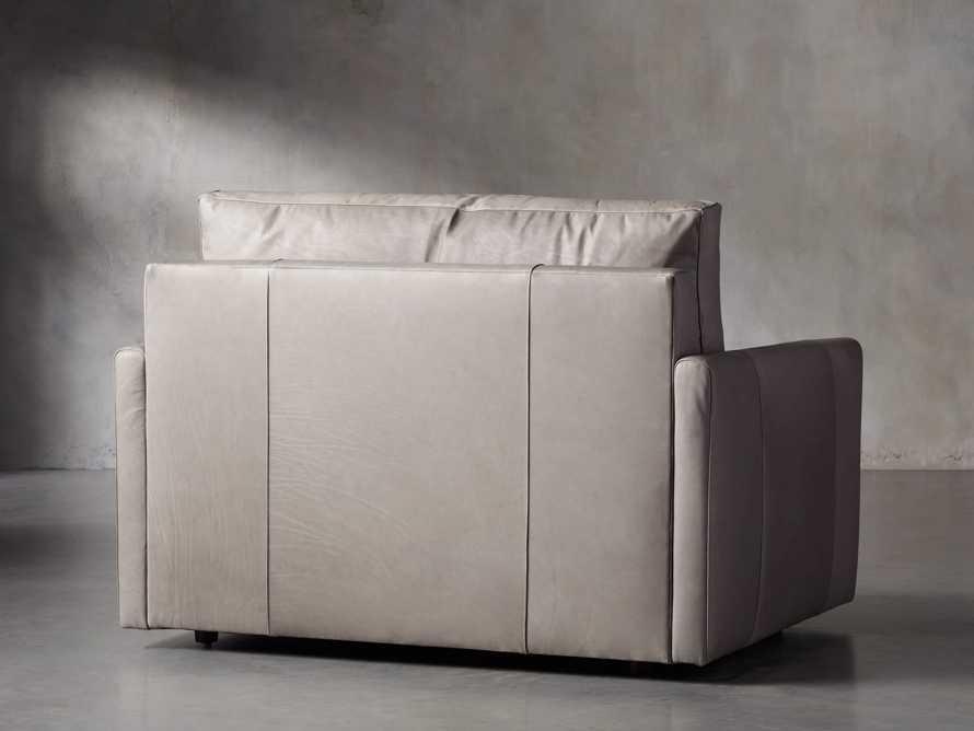 "Kipton Leather 51"" Chair, slide 4 of 7"