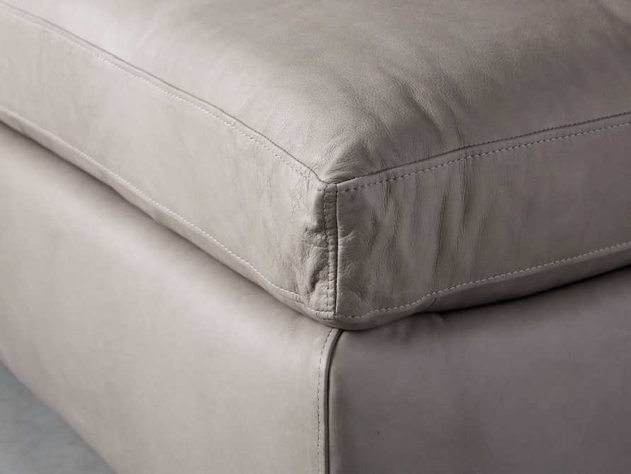 "Kipton Leather 44"" Ottoman, slide 4 of 6"