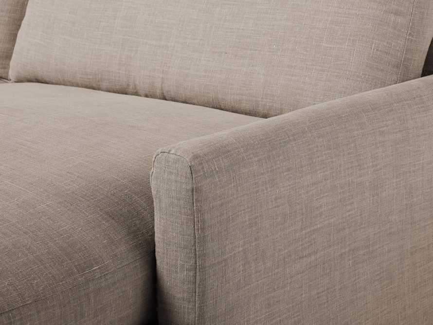 """Kipton Slipcovered 139"""" Right Arm Two Piece Sectional, slide 8 of 8"""