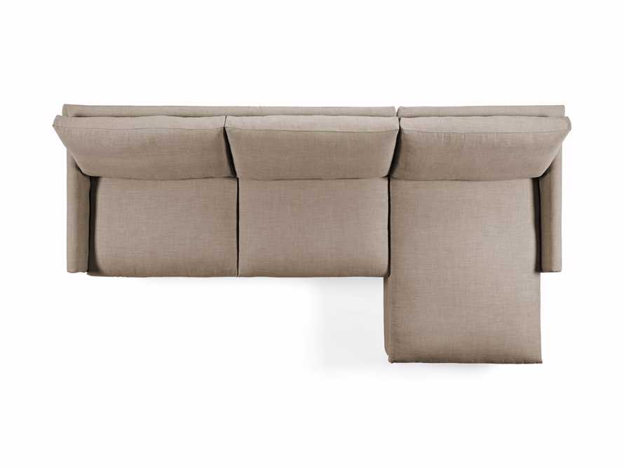 """Kipton Slipcovered 139"""" Right Arm Two Piece Sectional, slide 7 of 8"""
