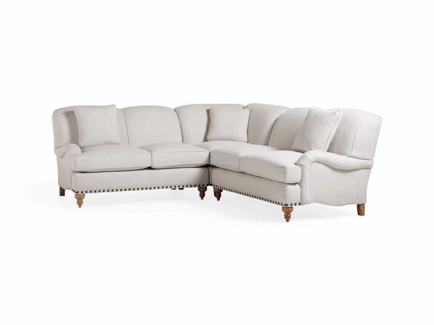 "Outerbanks Upholstered 98"" Three Piece Sectional"