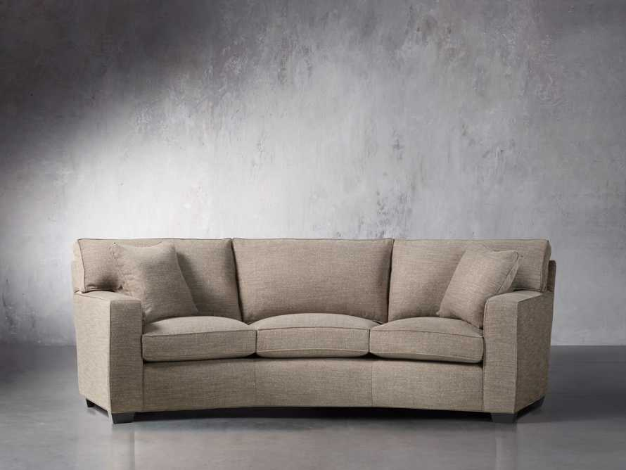 "Brentwood Square 107"" Upholstered Wedge Sofa, slide 2 of 6"
