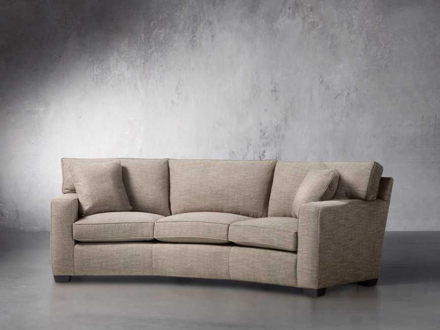 "Brentwood Square 107"" Upholstered Wedge Sofa, slide 3 of 6"
