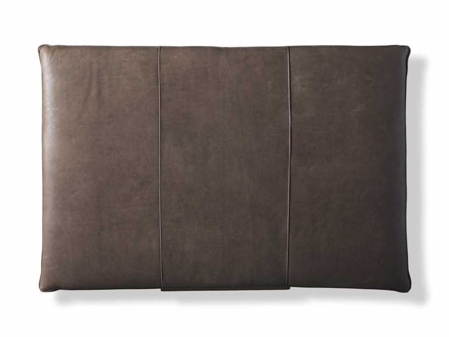 """Ranch Leather 56"""" Rectangle Ottoman, slide 5 of 6"""
