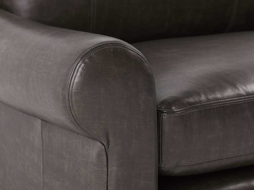 "Rockway Leather 52"" Chair"
