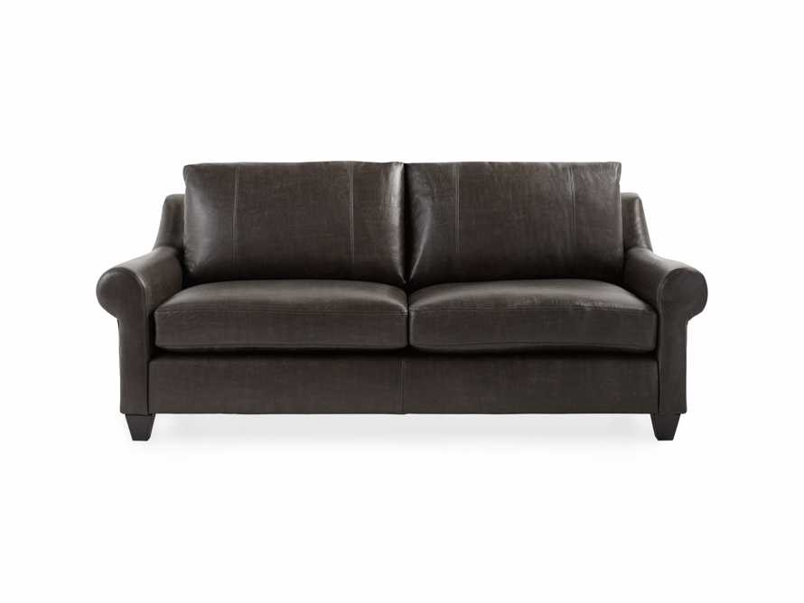 "Rockway Leather 88"" Sofa"