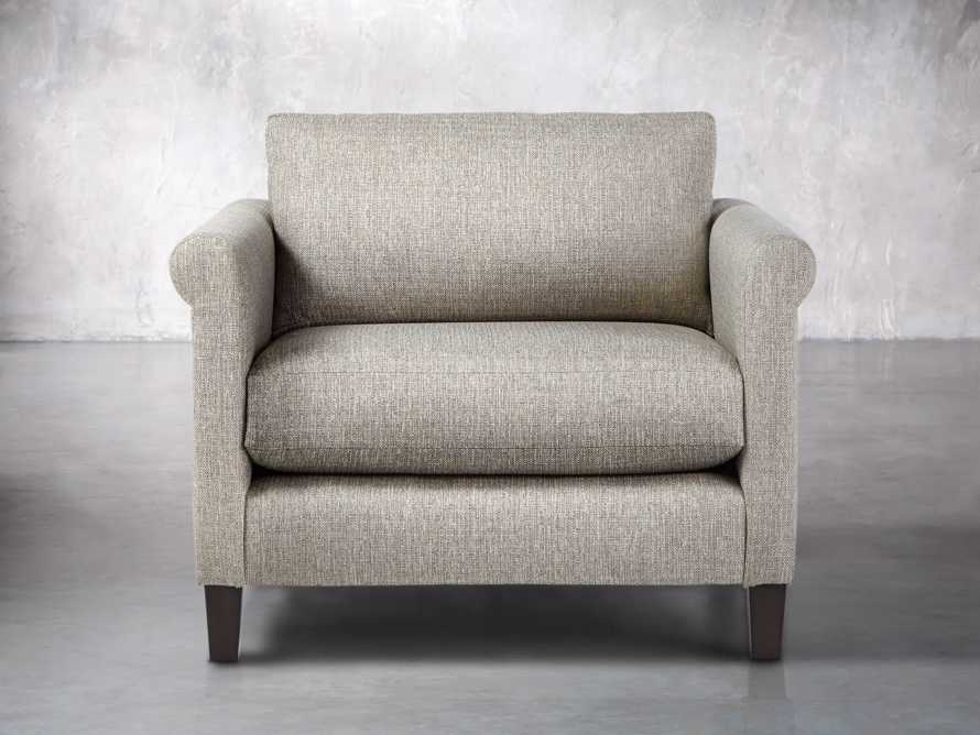 """Taylor Rolled Upholstered 42"""" Chair, slide 2 of 5"""