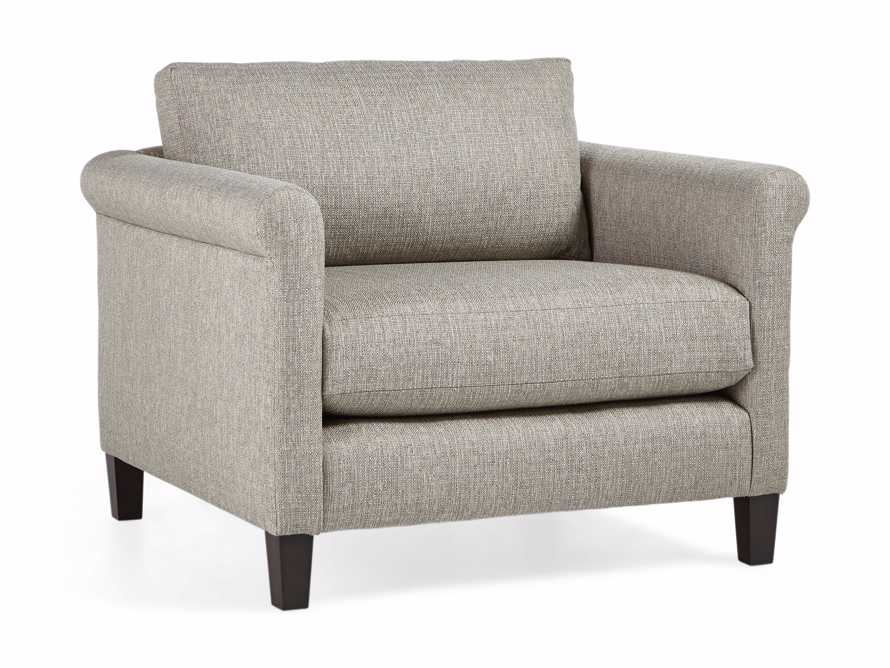 """Taylor Rolled Upholstered 42"""" Chair, slide 3 of 5"""