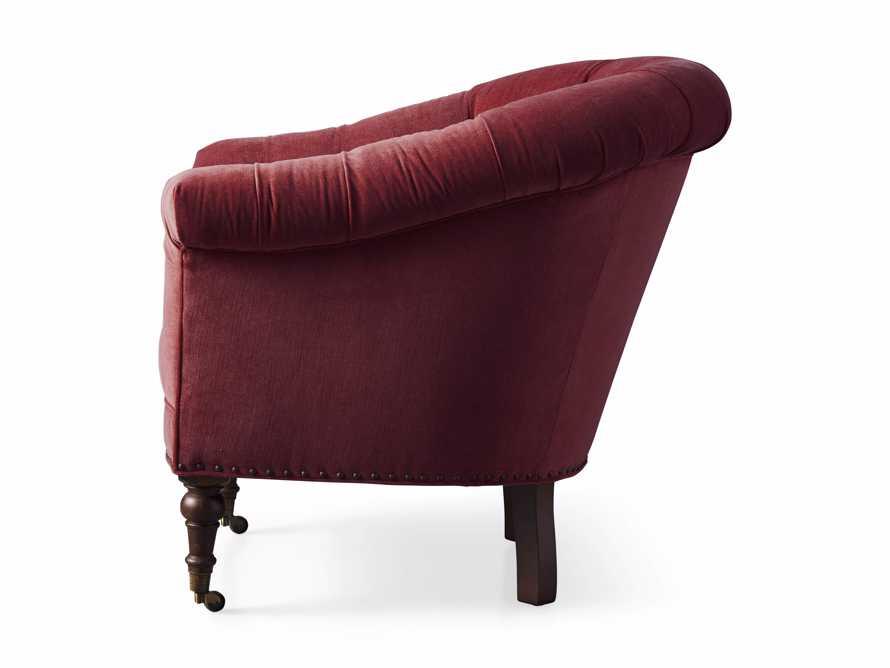 "Tangier 33"" Upholstered Tufted Chair, slide 8 of 8"