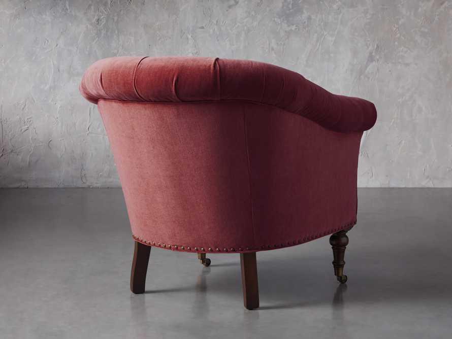 "Tangier 33"" Upholstered Tufted Chair, slide 5 of 8"