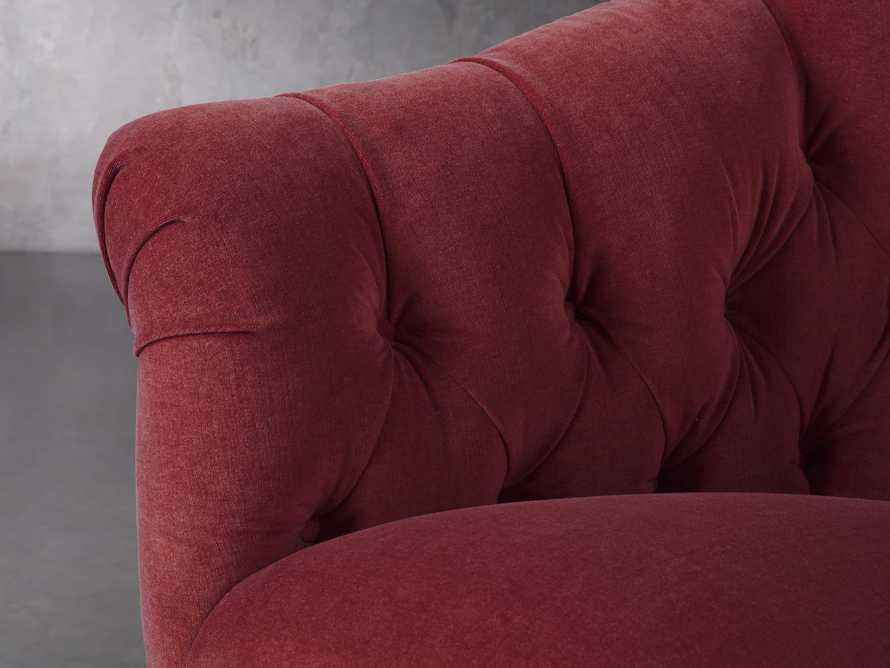 "Tangier 33"" Upholstered Tufted Chair, slide 6 of 8"