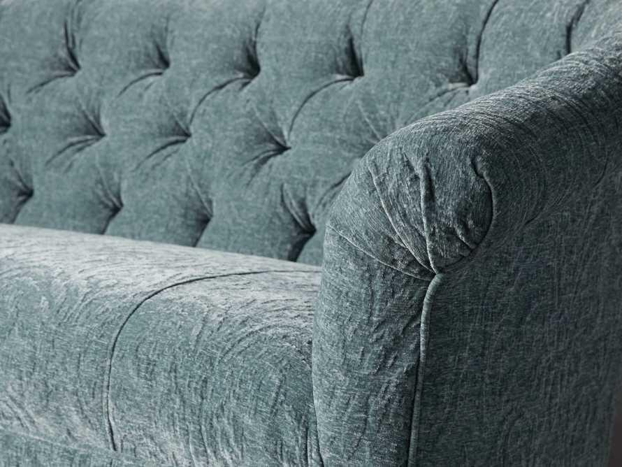 """Tangier Upholstered 65"""" Tufted Settee, slide 6 of 10"""